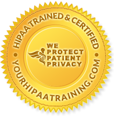 Our staff is Hippa Certified!